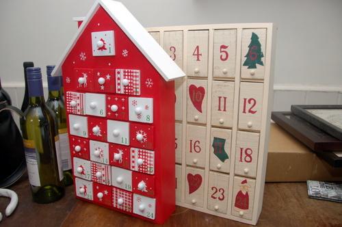 Как сделать рождественский календарь видео