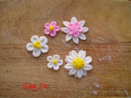 Цветы из мастики своими руками фото