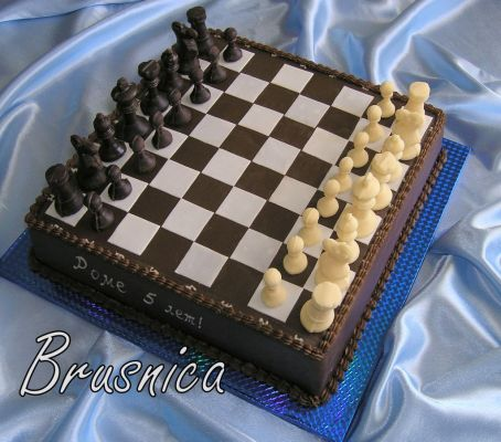 Картинки торт шахматы