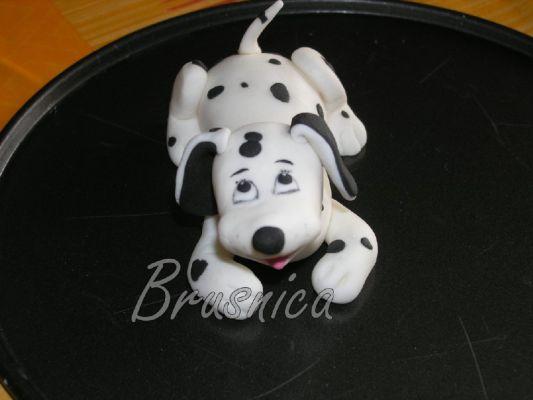 торты из мастики собачки на торте фото