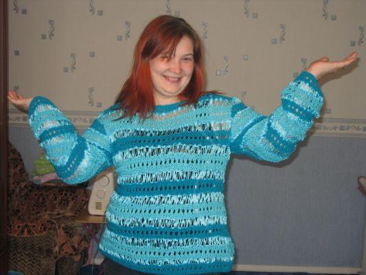 связать свитер мужской 46 размер.