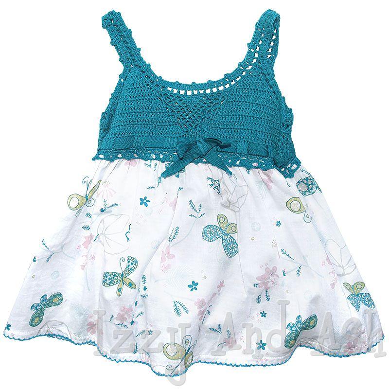 钩布结合美衣美裙(57) - 柳芯飘雪 - 柳芯飘雪的博客