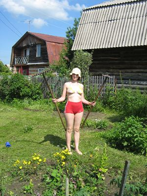 Домашнее фото русских голых жен в деревне