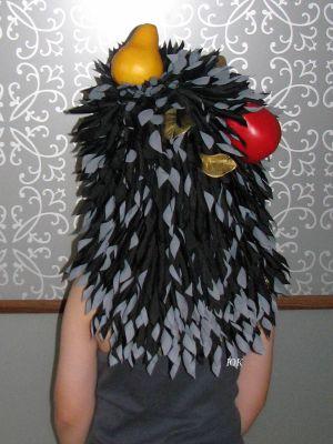 Костюм новогодний ежика своими руками фото