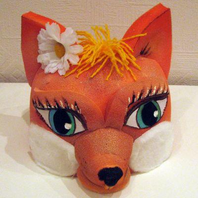 Сделать маску лисы своими руками фото