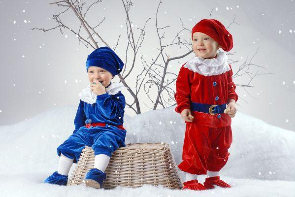 Новогодний костюм гномика своими руками фото