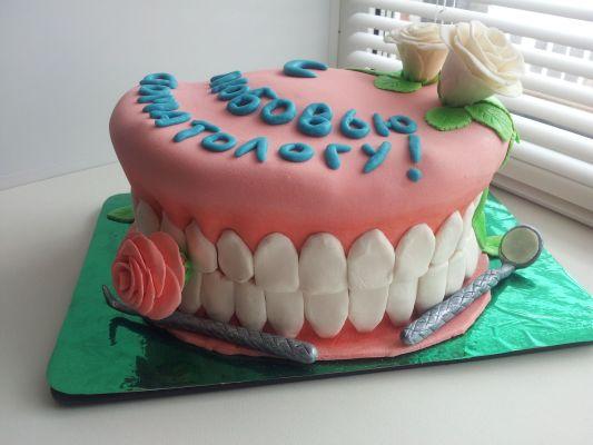 Торт ко дню стоматологов